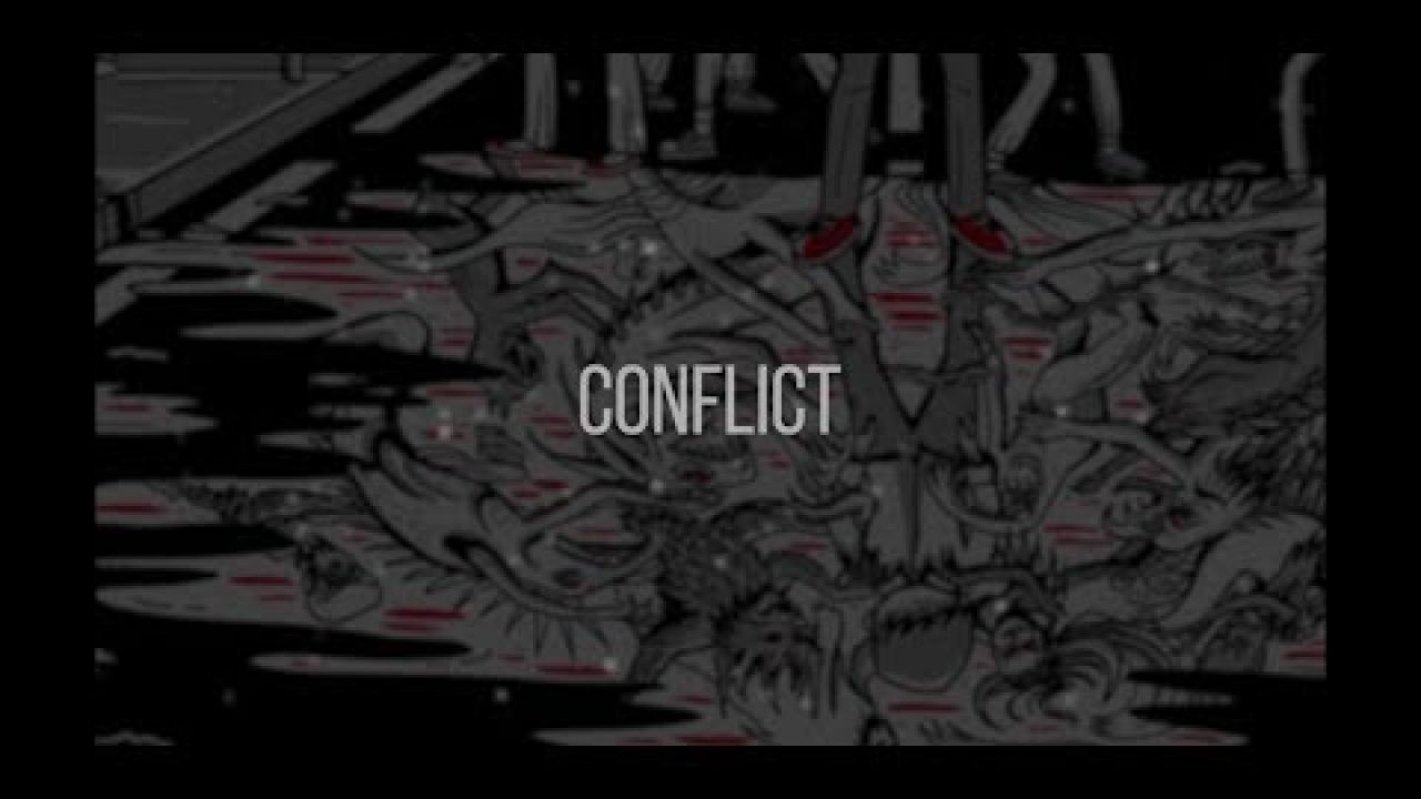 Vicious. - Conflict (Official Clean Lyric Video)