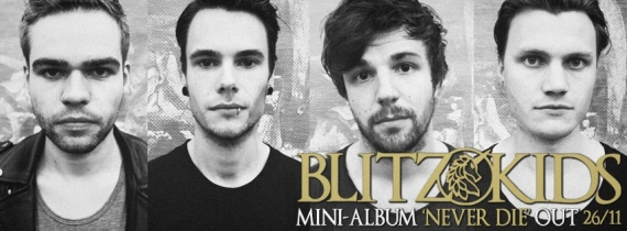 Blitz Kids announced as support for Lower Than Atlantis