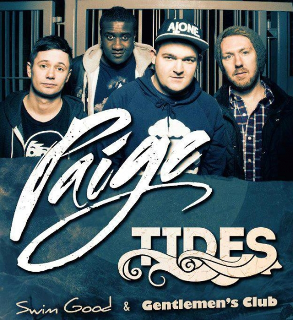 Paige (featuring Tides) - 23rd November - Club 85 - Hitchin