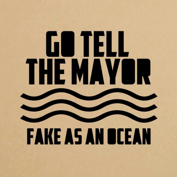 Go Tell The Major - Fake As An Ocean - EP - Review