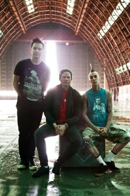 Blink 182 featuring Prides - 6th August - Brixton Academy, London